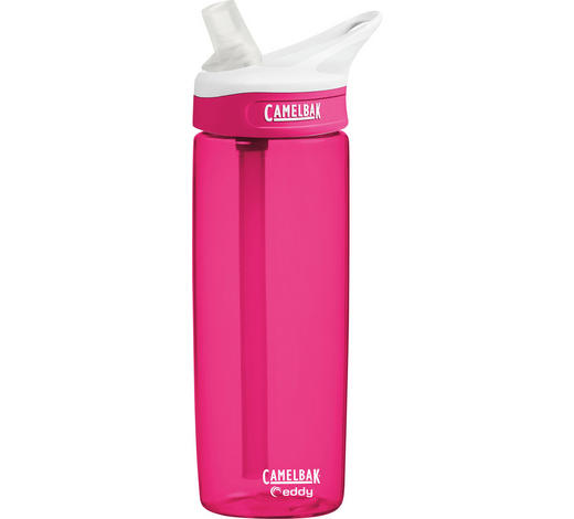 TRINKFLASCHE 0,6 L - Pink, Design, Kunststoff (0,6l)