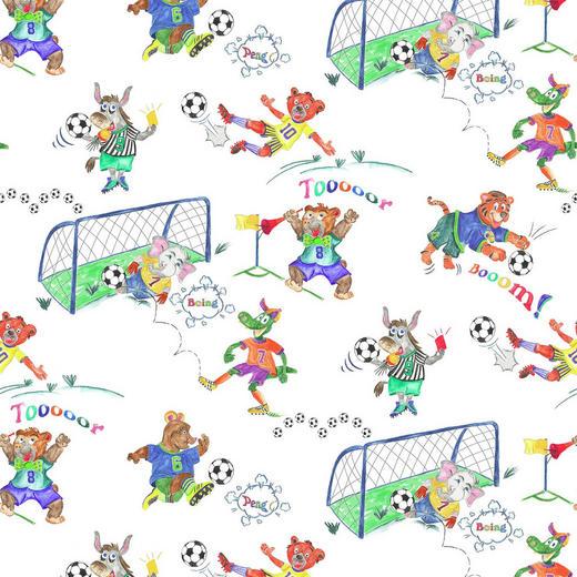 KINDERVORHANGSTOFF - Multicolor, KONVENTIONELL, Textil (160cm) - Ben'n'jen