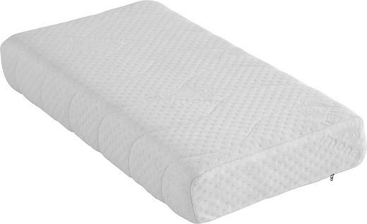 NACKENKISSEN Doppeltuch Viskoelastischer Kern - Weiß, Basics, Textil (80/40cm) - Diamona