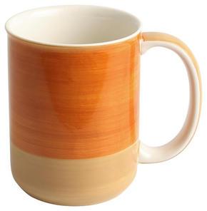 KAFFEMUGG - beige/orange, Design, keramik (8,4/10,7cm) - Landscape