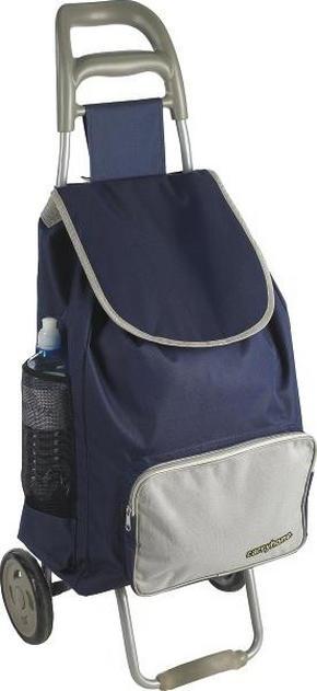 SHOPPINGVAGN - blå/grå, Klassisk, metall/textil (39/32/94cm) - Boxxx