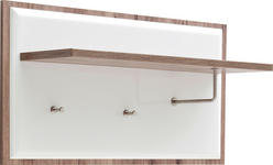 GARDEROBENPANEEL 100/52/32 cm - Eichefarben/Weiß, Design, Holzwerkstoff (100/52/32cm) - Xora