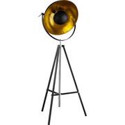 STEHLEUCHTE - Goldfarben/Schwarz, LIFESTYLE, Metall (49/180cm) - Marama