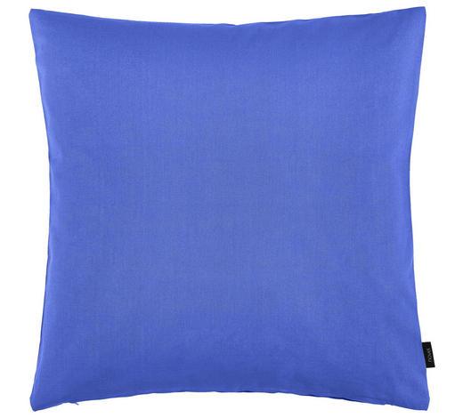 KISSENHÜLLE - Blau, Basics, Textil (60/60cm) - Novel