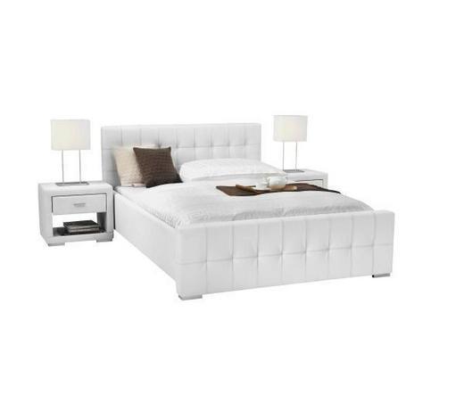 KREVET  151/93,5/222 cm    bijela  - bijela, Konvencionalno, drvni materijal/tekstil (151/93,5/222cm) - Xora