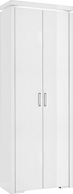 GARDEROB - vit, Design, träbaserade material/plast (70/192/32,4cm) - Voleo