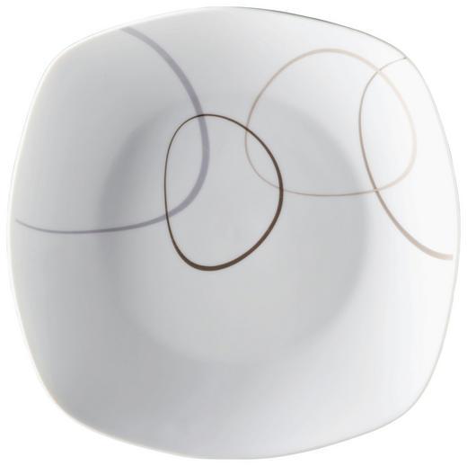 SPEISETELLER Porzellan - Braun/Weiß, Basics (26/26/2cm) - RITZENHOFF BREKER