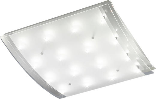 DECKENLEUCHTE - Chromfarben/Klar, KONVENTIONELL, Glas/Metall (69/66/17.5cm)