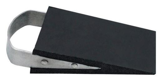 TÜRSTOPPER Kunststoff, Metall - Edelstahlfarben/Schwarz, KONVENTIONELL, Kunststoff/Metall (12/3/5cm) - X-Mas