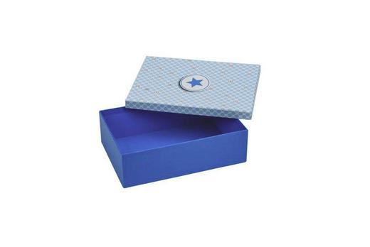 GESCHENKBOX - Blau, Basics, Karton (29/20/5cm)