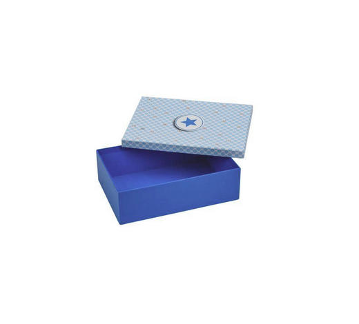 GESCHENKBOX - Blau, Basics, Papier (31/22/6cm)