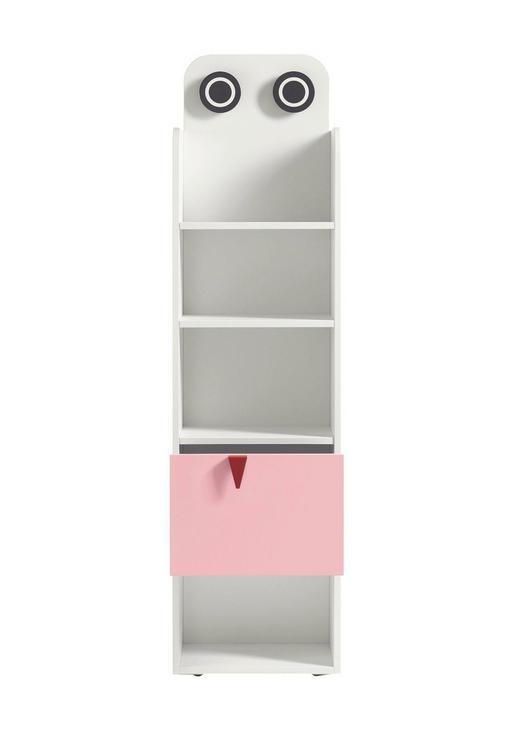 BABYREGAL Now! Minimo Weiß - Hellrosa/Rot, Basics (45,5/173,8/33,5cm) - Hülsta - Now