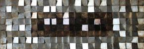 TAVLA - brun/multicolor, Design, trä/plast (180/55/8,5cm)