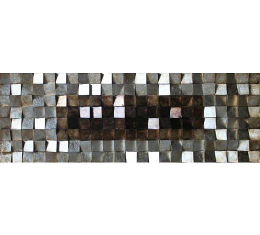 BILD - Goldfarben/Multicolor, Design, Holz/Kunststoff (180/55/8,5cm)