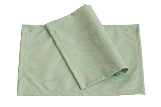 TISCHSET - Jadegrün, Basics, Textil (33/46cm)