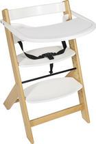 HRANILICA - bijela/boje bukve, Basics, drvo (45/50,5/78,5cm) - My Baby Lou