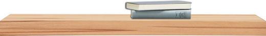POLICE NÁSTĚNNÁ - barvy buku, Basics, dřevo (90/25cm)