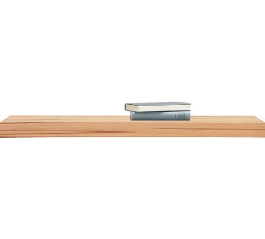 POLICE NÁSTĚNNÁ, jádrový buk, barvy buku - barvy buku, Basics, dřevo (90/25cm)
