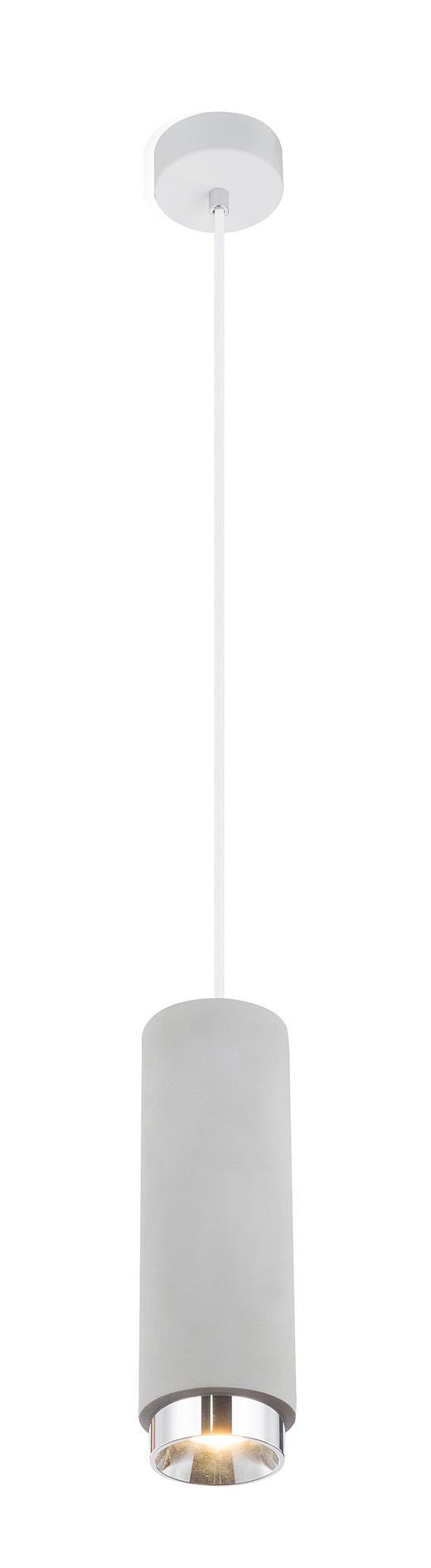 HÄNGELEUCHTE - Grau, KONVENTIONELL, Stein (9/181/cm)