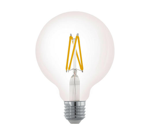 LED-LEUCHTMITTEL  E27 6 W  - Klar, Basics, Glas (13,5cm) - Homeware