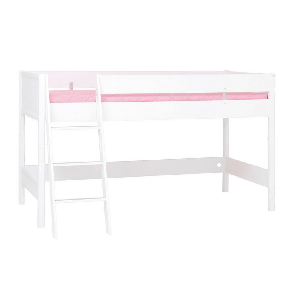 Paidi HOCHBETT 90/200 cm Weiß | Kinderzimmer > Kinderbetten > Hochbetten | Weiß | Holzwerkstoff | Paidi