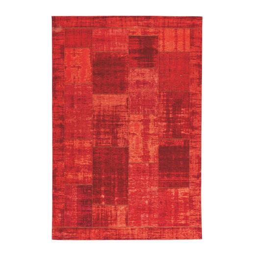 FLACHWEBETEPPICH  80/150 cm  Dunkelrot - Dunkelrot, Basics, Textil (80/150cm) - Novel