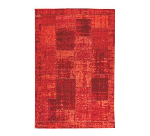 FLACHWEBETEPPICH  130/190 cm  Dunkelrot   - Dunkelrot, Trend, Textil (130/190cm) - Novel