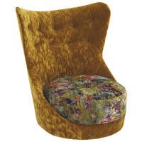 SESSEL in Textil Multicolor - Multicolor, Trend, Textil/Metall (71/101/85cm) - Bretz