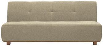 SCHLAFSOFA Beige  - Beige, Design, Holz/Textil (202/88/103cm) - Novel