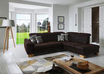 SEDEŽNA GARNITURA,  rjava tekstil - hrast/bež, Trendi, tekstil (301/243cm) - Beldomo Comfort