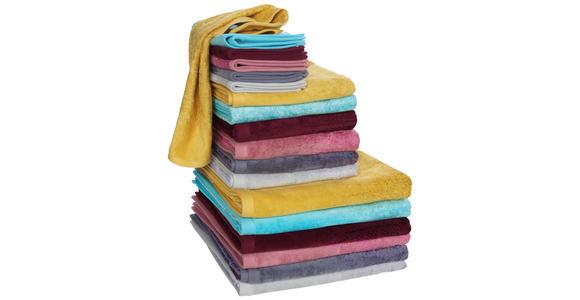 GÄSTETUCH 30/50 cm Silberfarben  - Silberfarben, Design, Textil (30/50cm) - Ambiente