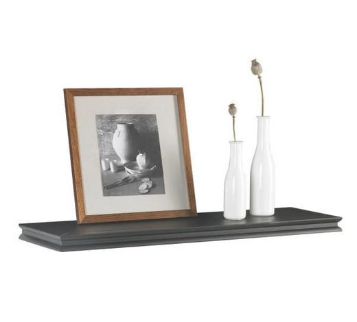 POLICE NÁSTĚNNÁ, černá - černá, Lifestyle, kompozitní dřevo (80/3,8/23cm) - Landscape