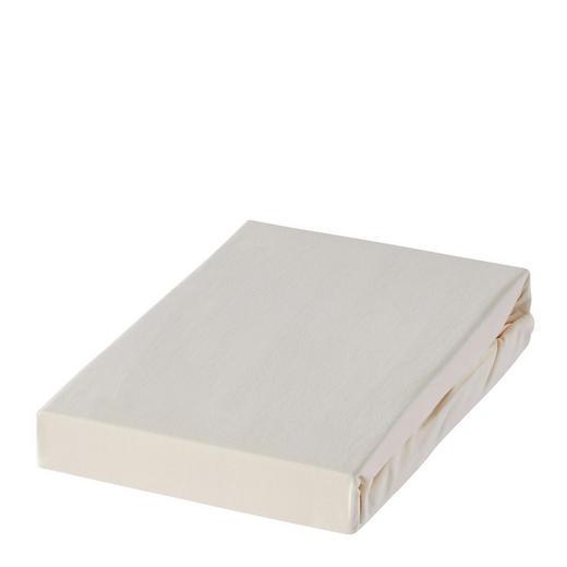 SPANNLEINTUCH - Creme, Basics, Textil (180/200cm) - Novel