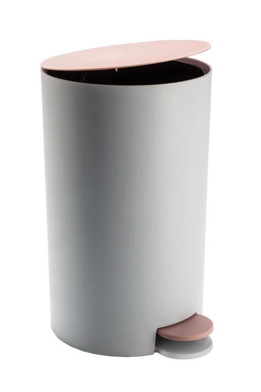 KOSMETIKEIMER Kunststoff - Schwarz/Rosa, Basics, Kunststoff (15,7/25,5cm) - Kleine Wolke