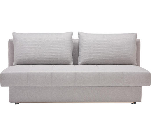 Schlafsofa In Textil Grau