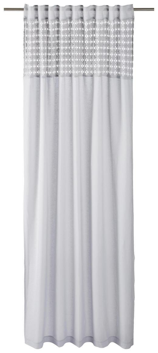 FERTIGVORHANG  halbtransparent  140/255 cm - Grau, LIFESTYLE, Textil (140/255cm) - Landscape