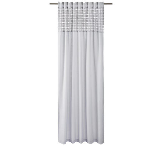 FERTIGVORHANG halbtransparent - Grau, LIFESTYLE, Textil (140/255cm) - Landscape