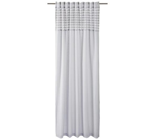 ZÁVĚS, poloprůhledné, 140/255 cm - šedá, Lifestyle, textil (140/255cm) - Landscape