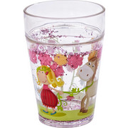 KINDERBECHER - Transparent/Multicolor, Basics, Kunststoff (7,5cm) - Haba