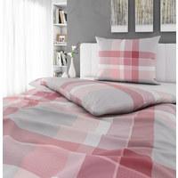 BETTWÄSCHE 140/200 cm - Rosa/Grau, Design, Textil (140/200cm) - Esposa