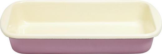 AUFLAUFFORM 36,5/21,5/5,7 cm - Rosa, Basics, Metall (36,5/21,5/5,7cm) - Riess
