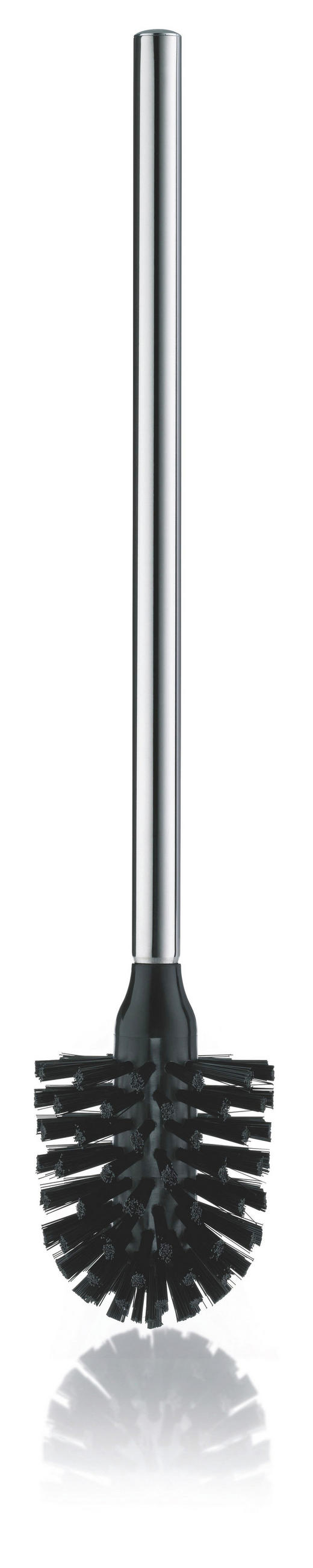 WC-BÜRSTE - Edelstahlfarben, Basics, Kunststoff/Metall (8/42,5cm)