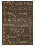 TEPIH NISKOG TKANJA - siva, Konvencionalno, tekstil/daljnji prirodni materijali (120/170cm) - Boxxx