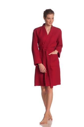 ŽUPAN - červená, Basics, textil (XXL) - Vossen
