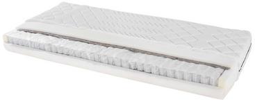 Taschenfederkernmatratze Primavera 140x200cm H2 - Weiß, Textil (140/200cm) - Primatex