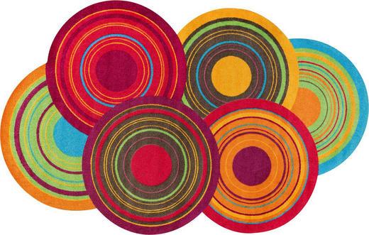 FUßMATTE 110/175 cm Graphik Multicolor - Multicolor, Basics, Kunststoff/Textil (110/175cm) - Esposa