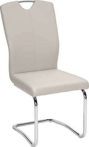 SVIKTSTOL - kromfärg/ljusgrå, Design, metall/textil (58,5/99,5/46cm) - Hom`in