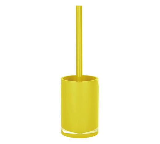 WC-BÜRSTENGARNITUR in Kunststoff  - Gelb, Basics, Kunststoff (10/36cm) - Sadena