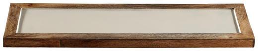DEKOTABLETT - Creme, Metall (50/2/16,5cm)