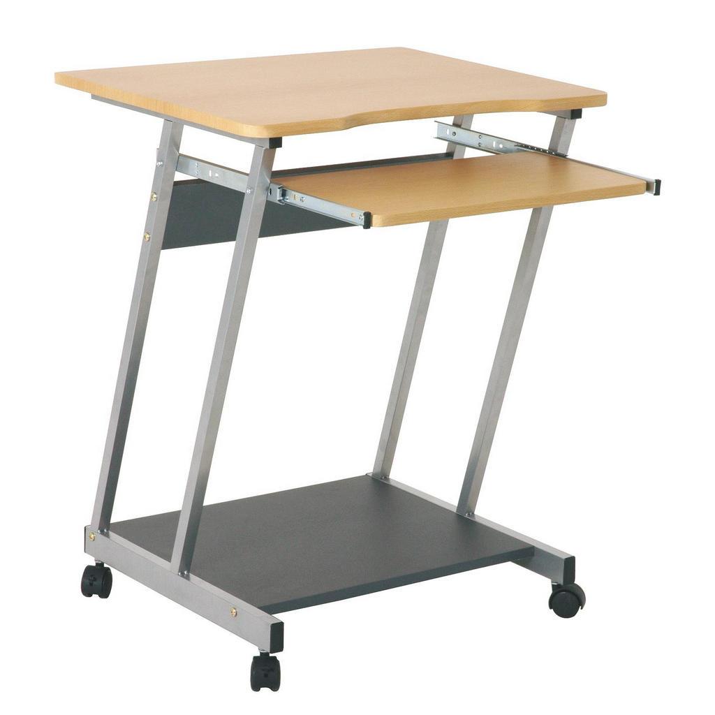 Carryhome COMPUTERTISCH Silber, Mehrfarbig   Büro > Bürotische > Computertische   Kunststoff   Carryhome